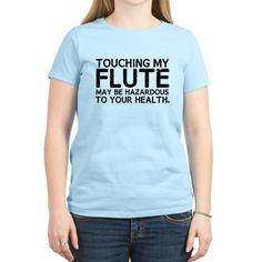 Flute Hazard T-Shirt on CafePress.com