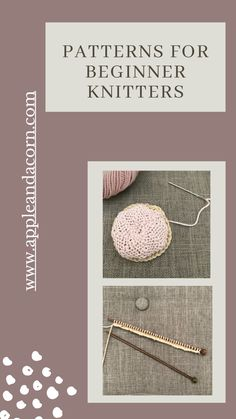 Beginner Knitting Patterns, Knitting For Beginners, Simple Knitting, Cupcake Cases, Love Craft, Pin Cushions, My Design, Scarves, Popular