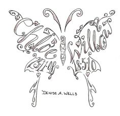 Tattoo ideas... Love this idea, I need something similar with my 3 children's names as well as my husband.....