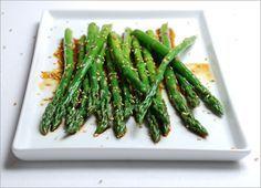 Marinated Sesame Asparagus - HealthNut Nation