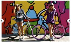 Sweet Summer Ice Cream Girls and Bicycles!!!!!!!!