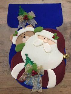 Christmas Clay, Christmas Sewing, Handmade Christmas, Christmas Time, Christmas Ornaments, Felt Crafts, Sewing Crafts, Holiday Decor, Cute