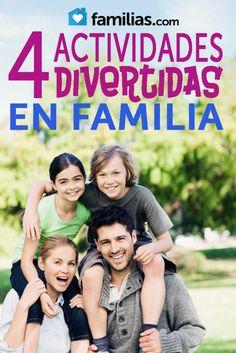Cuatro actividades divertidas en familia