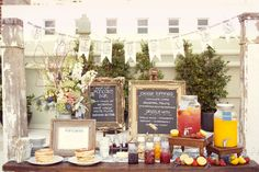 Pancake wedding food bar | Photo: Sarah Yates Photography