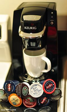 """Keurig Mini Brewer. I think this is a """"gotta have it"""" for the college dormroom...(:"""