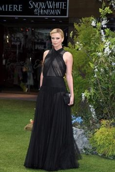 Charlize Theron for 'Snow White and the Huntsmen' red carpet