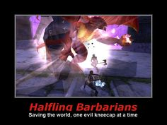 Halfling Barbarians