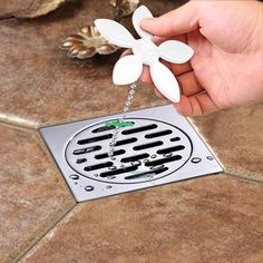 House Scenery Drain Hair Shower Catcher Clean Never Clogged Bathtub Plumbing Stainless Steel Cover Bathroom Filter Sewer Stopper