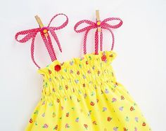 Looking for your next project? You're going to love HAPPY APPLES Dress 3 to 10 yrs by designer PUPERITA.