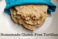 #GlutenFree Tortillas from @Huppie Mama
