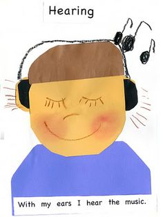 With my ears I hear music