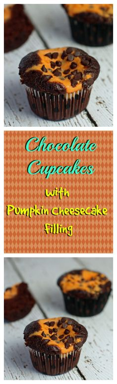 So Much Flavor you don't need frosting!  A delicious combination of rich, moist chocolate cake and creamy pumpkin smoothness, plus decadent chocolate chips!  A must for fall!