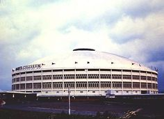 Araneta Coliseum - for me, is an Iconic Filipino Architecture because some of the greatest shows in this country was being held in this grand edifice. Thrilla In Manila, Filipino Architecture, Philippines Culture, Third World Countries, Quezon City, Past, Country, Buildings, Pictures