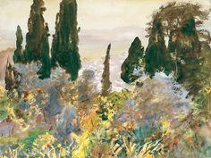 Granada - John Singer Sargent (American, Florence 1856–1925 London)