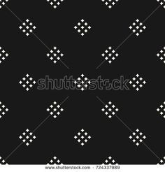Vector geometric texture with small diamond shapes, tiny rhombuses, squares. Repeat design for decor, textile, covers Dot Art Painting, Black And White Design, Stencil Art, Gold Print, Sherwani, Hand Embroidery Designs, Artwork Design, Dobby, Textile Patterns