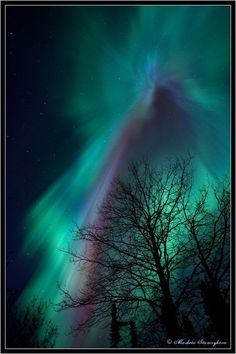 Aurora Borealis - Crown in the Crown by Marketa Stanczykova Murray** Beautiful Sky, Beautiful World, Beautiful Places, Beautiful Pictures, Northen Lights, Photos Voyages, Science And Nature, Belle Photo, Night Skies