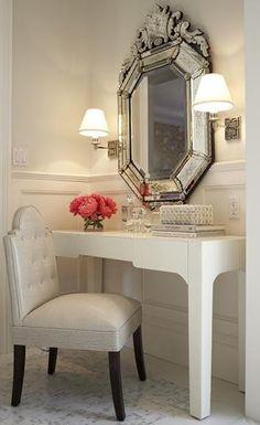 cute vanity....