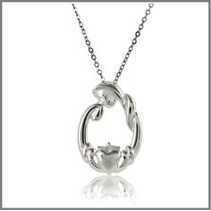 Mothers Claddagh Necklace