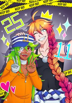 Nanbaka Uno and Nico