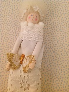 Sachet Doll * Butterfly Bride