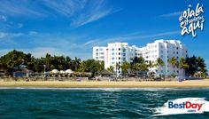 Propiedad con arquitectura Mediterránea, de 200 jabitaciones, localizada en playa Gaviotas, una de las playas más extensas y hermosas del área. Su ubicación en la Zona Dorada, te permitirá estar cerca de bares, clubes nocturnos y restaurantes, así como de centros comerciales. #OjalaEstuvierasAqui
