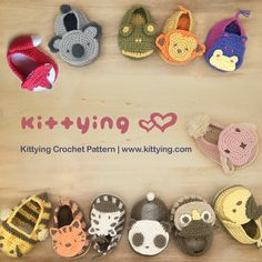 Kittying Crochet Pattern A Store for Crochet Lovers. Find crochet patterns designed by Ying. Patterns baby booties, toys, accessories and more, including the perfect gifts for baby showers, christenings and festive occasions.Flex vicariously through Crochet Baby Shoes, Crochet Baby Booties, Crochet Slippers, Crochet Baby Blanket Beginner, Baby Knitting, Crochet Designs, Crochet Patterns, Crochet For Beginners, Crochet Animals