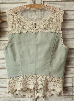 Sweet lace mint boho crop top - #costura #Costurafacil #Moldesdevestidos #Patronesdecostura #Proyectosdecostura #Ropareciclada #Técnicasdecostura