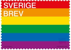 Sweden Issuing Stamp Honoring The Rainbow Flag