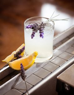 Cool cocktails featuring organic Ocean vodka: Ocean Lemon Blossom. Coastalliving.com