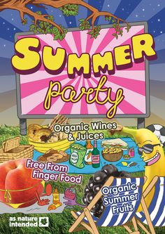 """""""Summer Party"""" Monthly Campaign (July & August 2016)"""