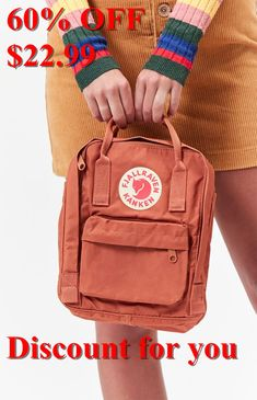 Fjallraven Kanken Backpack #Kanken, #Fjallraven, #Backpack