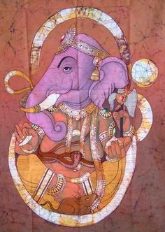 His association with obstacles comes from the great strength of the elephant, the intelligence of the human and the subtelty or ability to penetrate small spaces like a mouse or rat.