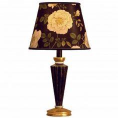 ARTEMISIA ROSALIE EBONY THIME lampada da tavolo