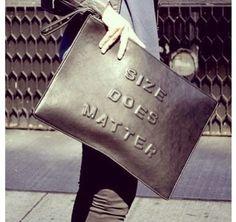 bag black metallic clutch large bag oversized embossed wording