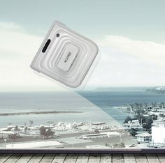 Winbot is to windows what the popular Roomba robotic vacuum cleaner is to floors. A cleaning pad, built-in squeegee, and drying pad are all part of this impressive gizmo, which suctions to a window or mirror, criss-crossing the surface until theres no trace of dirt or dust.