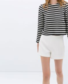 HIGH RISE SHORTS WITH POCKETS from Zara