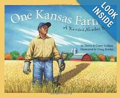 One Kansas Farmer: A Kansas Number Book (Count Your Way Across the USA) (America by the Numbers): Devin Scillian, Doug Bowles: 9781585361823: Amazon.com: Books