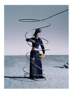 Mariacarla Boscono by Tim Walker for Vogue Italia March 2014 | The Fashionography