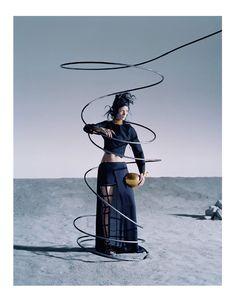 Mariacarla Boscono Vogue Italia March 2014 | by Tim Walker