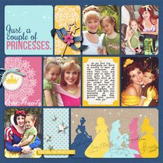 Britt Girls Gallery - Couple of Princesses - Britt-ish Designs Gallery