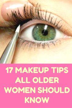 17 Makeup Tips All Older Women Should Know About (Slideshow)  Chile Recipes  Accès Notre Blog trouver beaucoup plus d'informations  http://storelatina.com/chile/recipes  #recetas #Чили #Kili #vacation