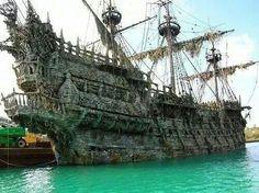 El barco fantasma del Holandés errante