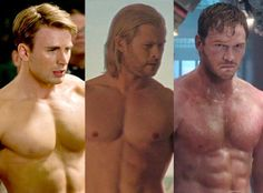 More Actors Named Chris Who Should Be Cast in Marvel Movies Captain America: The First Avenger, Chris Pratt, Guardians of the Galaxy, Thor, Chris Hemsworth