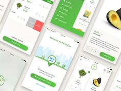 We deliver healthy and eco-friendly groceries to your door by bicycle. Orders are placed on our App and delivered daily.  Pantry Zen on behance click here  Find me : Website | Behance