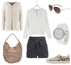 #outfit Lässig in Shorts ♥ #outfit #outfit #outfitdestages #dresslove