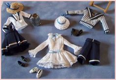 Petits costumes marins by Béatrice Thiérus