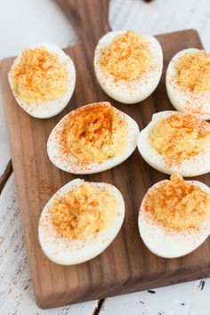 Very Best Deviled Eggs | This appetizer recipe is so good, it'll be gone in a flash!