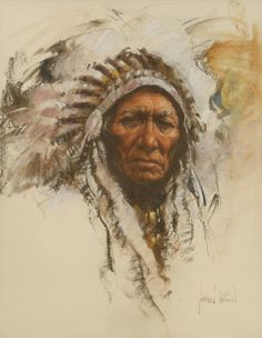 We are professional Harley Brown supplier and manufacturer in China.We can produce Harley Brown according to your requirements.More types of Harley Brown wanted,please contact us right now! Native American Paintings, Native American Pictures, Native American History, Indian Paintings, Native Indian, Native Art, American Indian Art, American Indians, Pastel Portraits