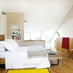 Modern bedroom and bathroom   Open-plan living   housetohome.co.uk