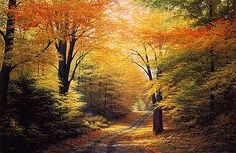 bob ross painting fall - Google Search